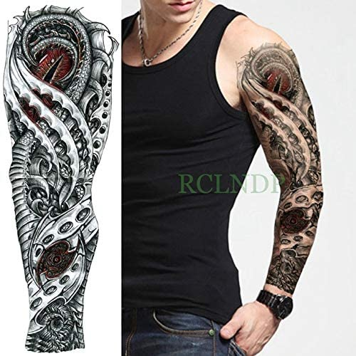 3pcs Tatuaje Impermeable Etiqueta engomada del Reloj Romano Ángel ...