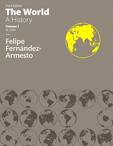 World:History,Vol.One