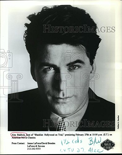 1996 press photo actor alec baldwin host quotblacklist