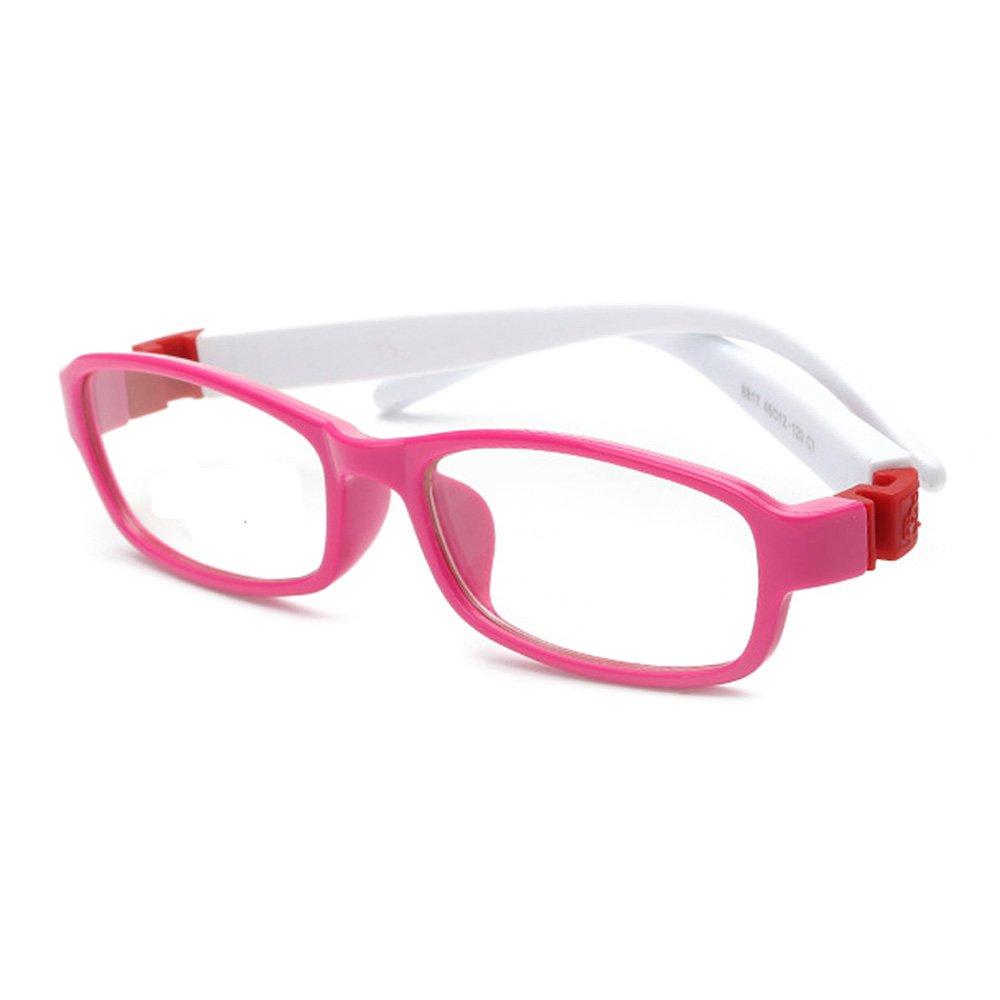 fantia Trendyファッション正方形子フラットメガネキッズ眼鏡フレーム  G B0746CTH5Q