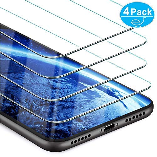 Iphone Xr Screen Protector Beikell 4 Pack Premium Tempered Glass Screen Protectors For Iphone Xr 6 1 Inch 9h Hardness Anti Scratch No Bubbles High Definition Easy To Apply
