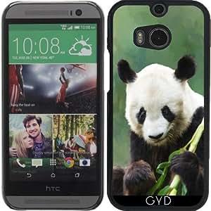 Funda para Htc One M8 - Panda Pintura Tardará Hui by Gatterwe