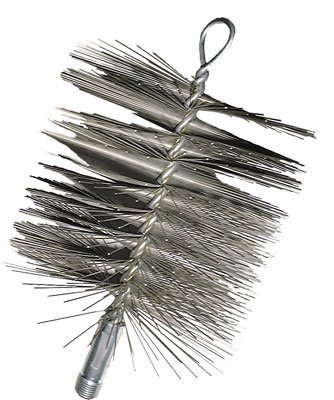 Imperial Mfg Wire Chimney Brush 6-Inches Diameter, Silver, 1 Imperial Manufacturing Group BR0183