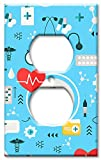 Art Plates Brand Electrical Outlet Wall / Switch Plate - Medical Supplies