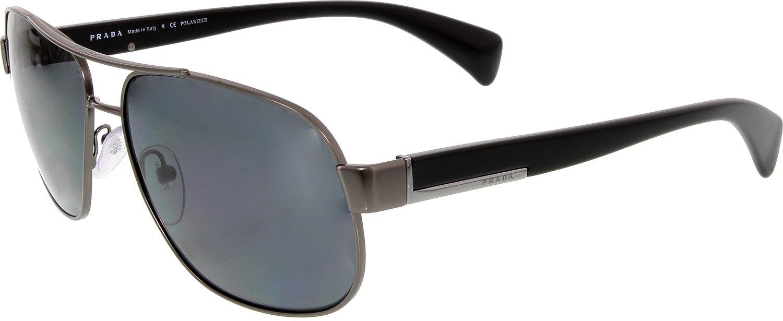 1a5624e8668d czech amazon prada sunglasses pr52ps frame matte gunmetal lens polar grey prada  sports outdoors 231ce cee4f