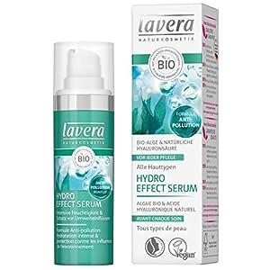 lavera Hydro Effect Sérum Flacon Pompe – acide hyaluronique – Vegan – Cosmétiques naturels – Ingrédients végétaux bio…