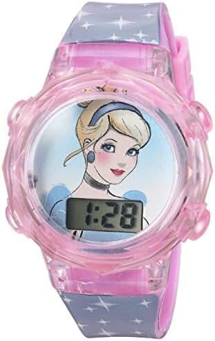 Disney Girl's Quartz Plastic Casual WatchMulti Color (Model: PRSKD835)