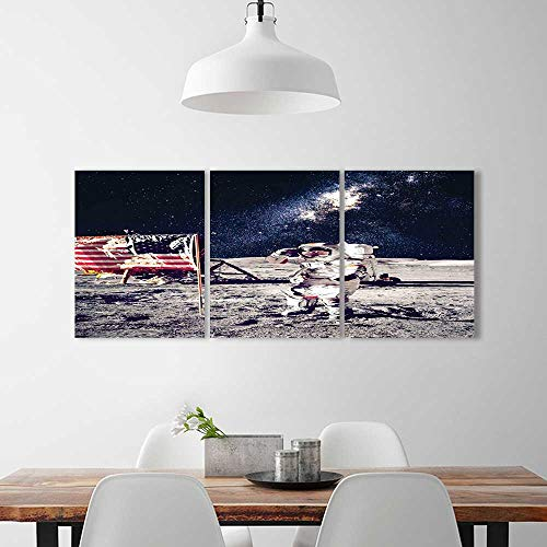 Analisahome Color 3 Piece Wall Art Painting Frameless Cosmon