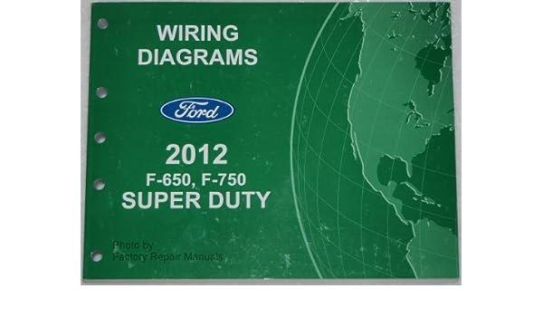 Ford F750 Starter Wiring