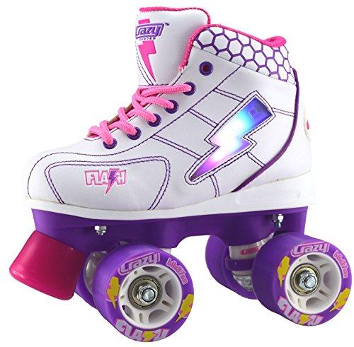 9.Crazy Flash Junior Light-Up Skate