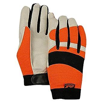 Large 2152THV//10 2152THV-10-1 Majestic Glove Glove Mechanics A Grade Pigskin