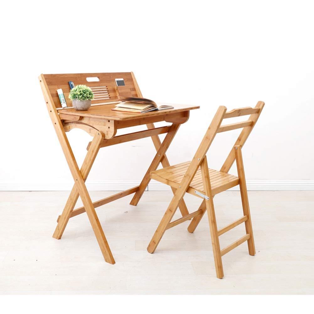JIEER-C Fritid kontorsstol stol pallar bambu hopfällbar inomhus utomhussits kompakt stol barn hållbar stark T2