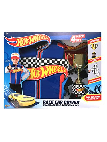 Imagine by Rubie's Boys Hot Wheels Championship Trophy Child's Costume Set, As Shown, ()