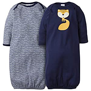 Gerber Baby Boys 2-Pack Gown