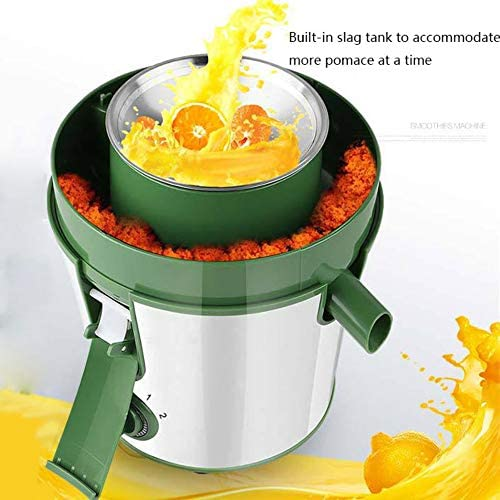 XSGDMN Máquina de exprimido Boca Grande, 300W exprimidor eléctrico con 500ml Jarra de Jugo y Cepillo para Limpiar convenientemente, Anti-Goteo, Vegetales de Frutas Enteras