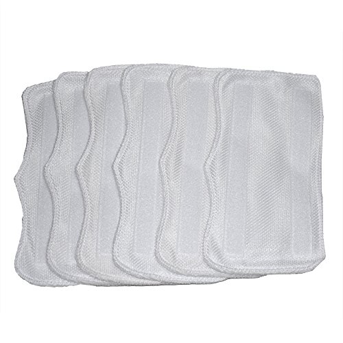 6Pack Replacement Microfiber Pads (XT3101) for Shark Steam Mop S3101, S3250, S3202