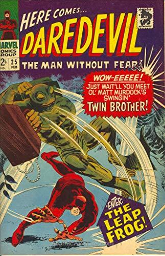 Daredevil #25 VG ; Marvel comic - Writer Leapfrog