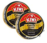 Kiwi Parade Gloss Paste, 2.5 Oz, Black, 2 Pack