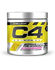 Pre-workout Powder C4 Original | Pre-workout Energy Drink Supplement | 150mg Cafeïne + Bèta-alanine + Creatine-monohydraat