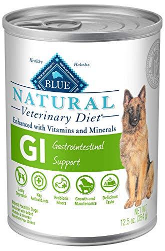 Blue Buffalo Natural Veterinary Diet Gastrointestinal Support for Dogs 12.5oz