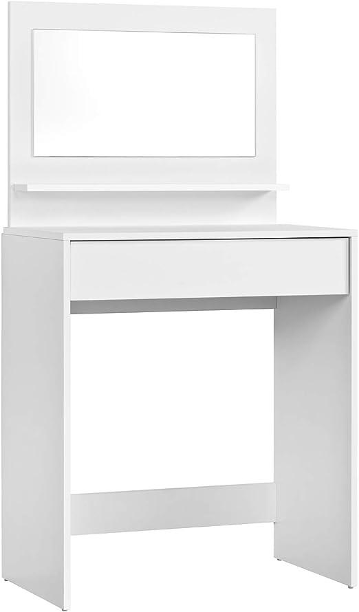 Schminktisch Kosmetiktisch Frisierkommode Kommode Hocker  mit 3 Spiegeln DHL
