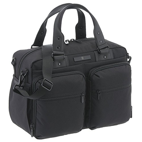 Victorinox Architecture Urban 23 Ltrs Black Diamond SMU Softsided Briefcase (601411)