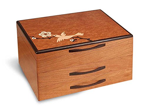 Heartwood Creations Hummingbird Jewelry Box - 2 ()