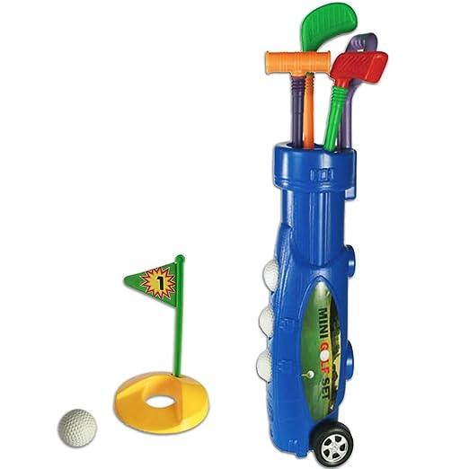 6 opinioni per Plastic Caddy Set da Golf Trolley (9