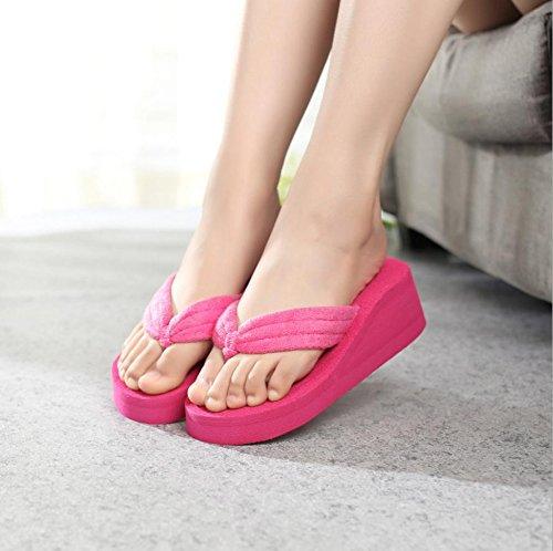 alta spiaggia casual ciabatte pantofole da 5 Mhgao donna moda e sandali awSEqRC