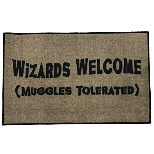 Harry Potter Wizards Welcome Entry Doormat ~2x3 - FMS Exclusive - Harry Potter Rugs