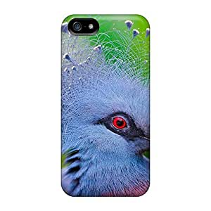 BestSellerWen Hot Design Premium Tpu Case Cover Iphone 5/5s Protection Case(victoria Crowned Pigeon After A Heavy Night In The Pub)