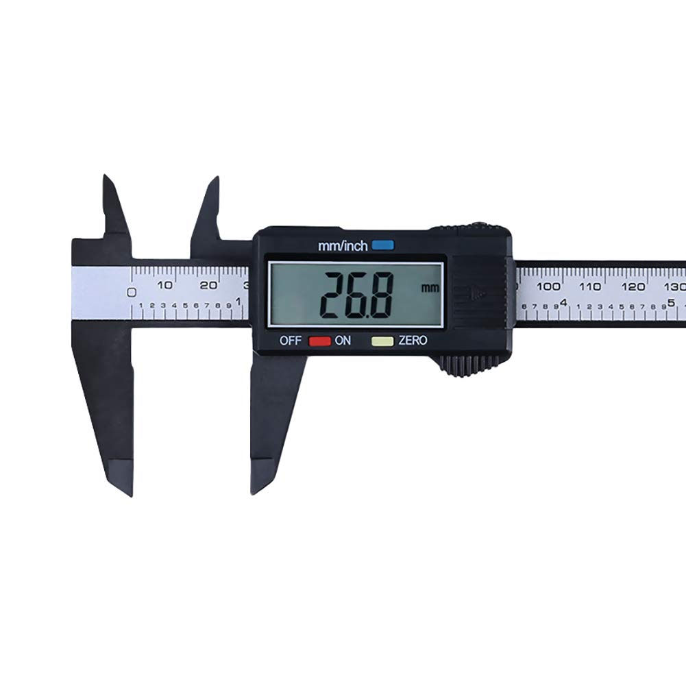 Plastic 150MM 6inch Digital LCD Electronic Vernier Caliper Gauge Micrometer Tool