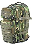 Cheap Mil-Tec Military Army Patrol Molle Assault Pack Tactical Combat Rucksack Backpack Bag 20L Woodland Camo
