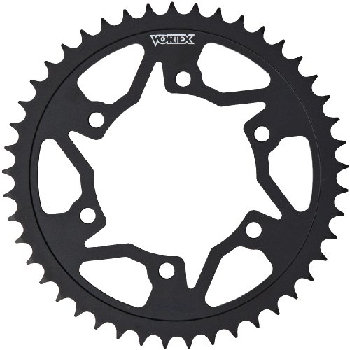 Black 45 Tooth - Vortex 452AS-45 Black 45-Tooth 520-Pitch Steel Rear Sprocket