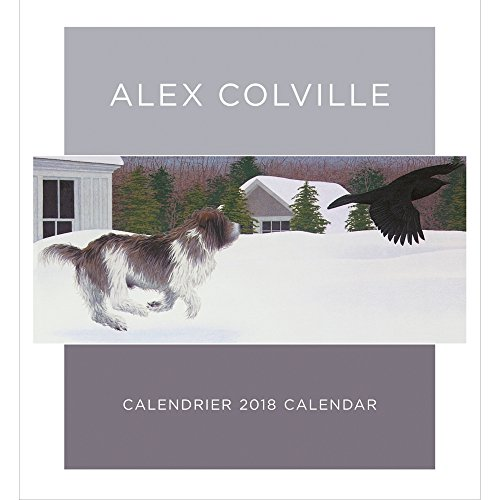 Alex Colville 2018 Wall Calendar (English and French Edition)