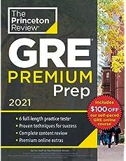 Princeton Review GRE Premium Prep, 2021: 6 Practice Tests + Review & Techniques + Online Tools (2021)