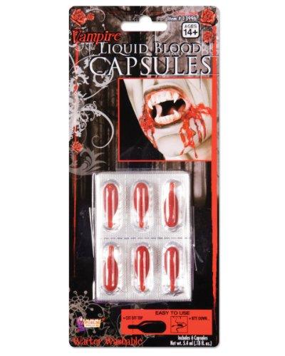 Liquid Blood Capsules (Halloween Blood Capsules)