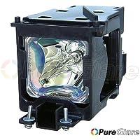 Pureglare Projector Lamp ET-LAC75 for PANASONIC PT-LC55U, PT-LC75E, PT-LC75U, PT-U1S65, PT-U1X65, TH-LC75