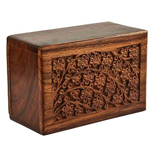 urn wooden - 9