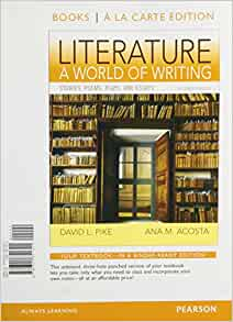 literature for composition essays stories poems and plays A river runs through it and other stories, twenty-fifth anniversary edition   literature for composition: essays, stories, poems, and plays (9th edition).