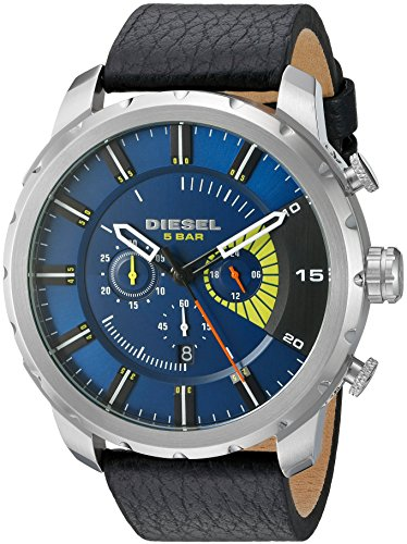 diesel-mens-dz4411-stronghold-stainless-steel-black-leather-watch