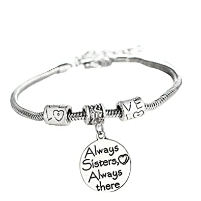 TOOKY Heart Love Round Pendant Charm Bracelet Gift for Family xqnlpnH