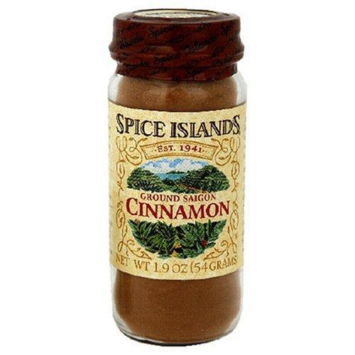 Spice Island Ground Saigon Cinnamon, 1.9-Ounce Jar (Pack of 4) by Spice Islands