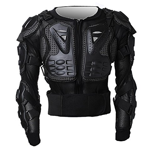 Motorcycle Parts Off Road Protector Spine Chest Gear Armor Clothing Full Body Protective Jacket Size XL For Motorbike Standard Sport ATV Quad Dirt Bike Car
