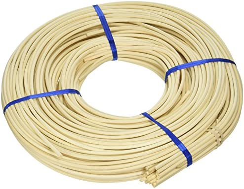 Commonwealth Basket Round Reed 6 4-14 4-12mm 1-Pound Coil Approximately 160-Feet / Commonwealth Basket Round Reed 6 4-14 4-12mm 1-Pound Coil Approximately 160-Feet