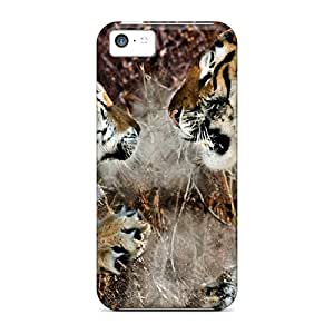 EGGYb4050xmEWh Anti-scratch Case Cover ColorfulCase Protective Territorial Fight Case For Iphone 5c