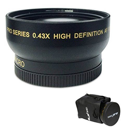 I3ePro 52mm Wide Angle Lens for 52mm Lens Thread by I3ePro