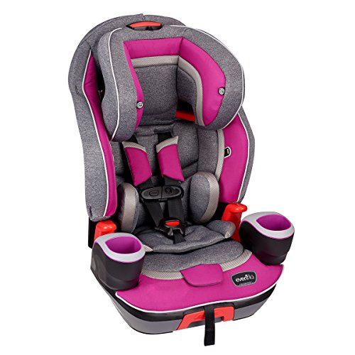 Reclining Booster (Evenflo Evolve Platinum 3-in-1 Combination Booster Seat, Dreamer)