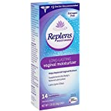 Replens Long-Lasting Vaginal Moisturizer, 14 Count by Replens (1 Pack)
