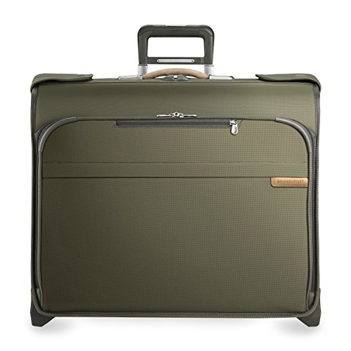 Briggs & Riley Baseline Deluxe Wheeled Garment Bag U176 (OLIVE) by Briggs & Riley